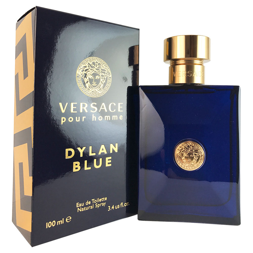 Versace Dylan Blue for Men 3.4 oz Eau De Toilette Spray