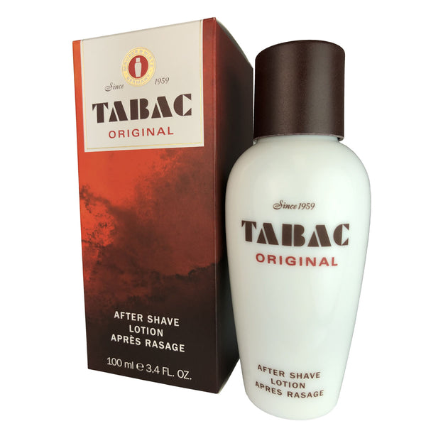 Tabac Original for Men By Maurer Wirtz 3.4 oz After Shave Lotion Splash