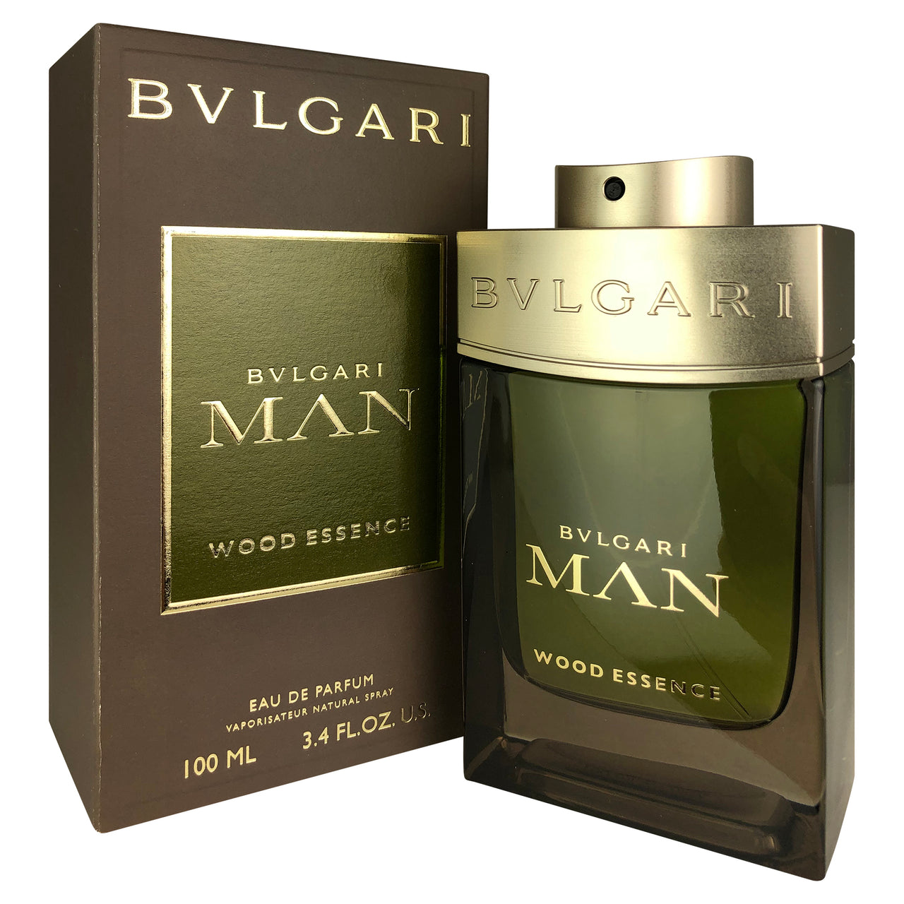 Bvlgari Man Wood Essence For Men By Bvlgari 3.4 oz Eau De Parfum Spray