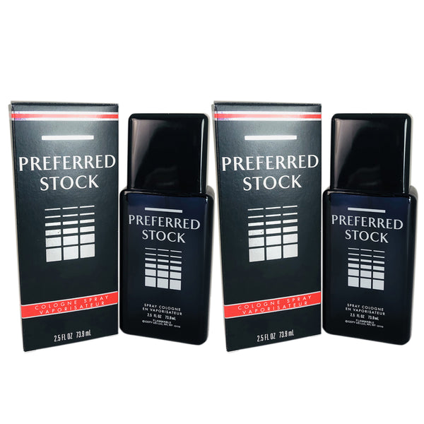 Preferred Stock 2.5 oz Cologne Spray 2 Pack