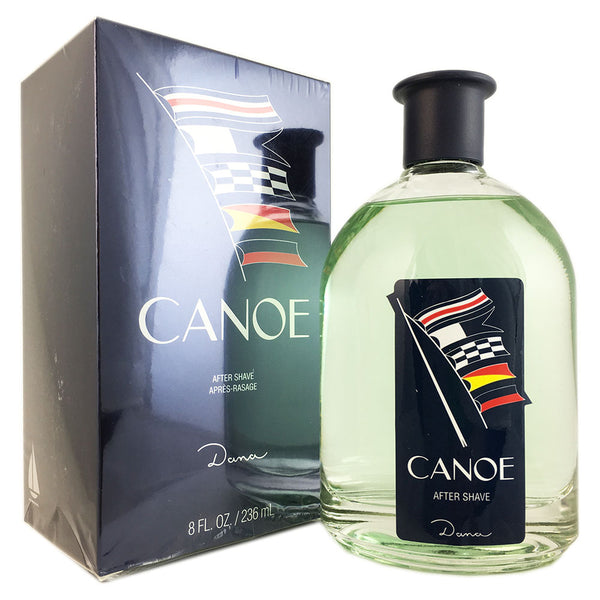 Canoe for Men by Dana 8.0 oz After Shave Splash Bottle
