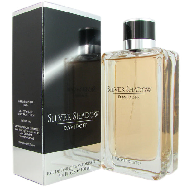 Silver Shadow for Men by Davidoff 3.4 oz Eau de Toilette Spray