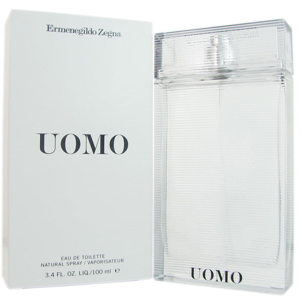 Ermenegildo Zegna Uomo for Men by Ermenegildo Zegna 3.4 oz Eau de Toilette Spray