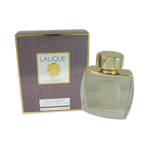 Lalique Equus for Men by Lalique 2.5 oz Eau de Parfum Natural Spray / HORSE