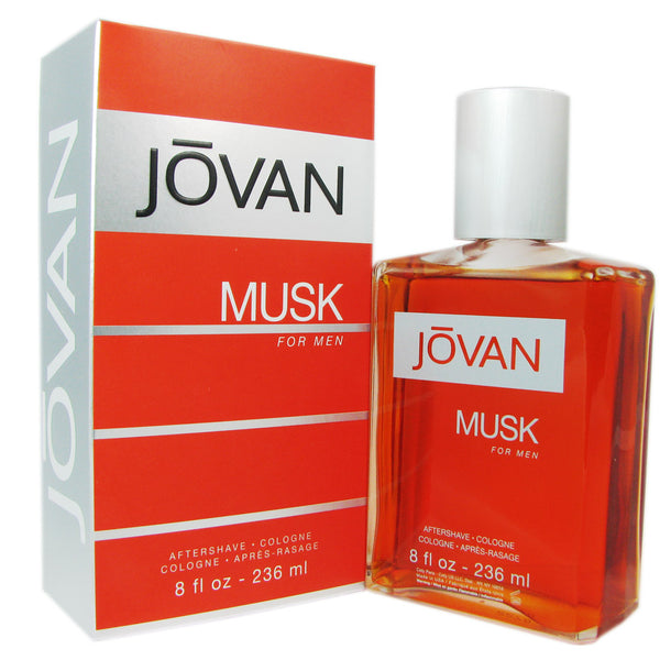 Jovan Musk for Men by Coty 8 oz After Shave Eau de Cologne Splash