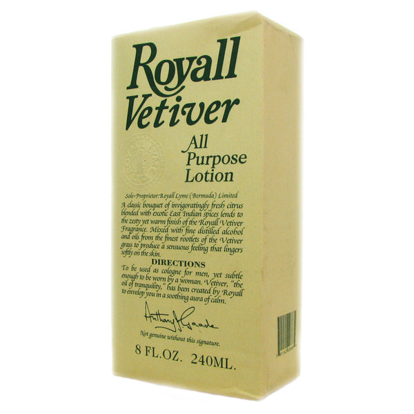 Royall Vetiver by Royall Fragrances 8 oz All Purpose Lotion