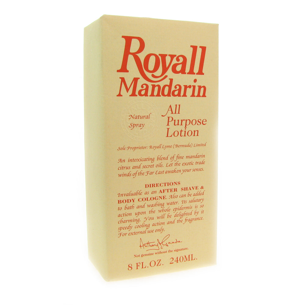 Royall Mandarin by Royall Fragrances 8 oz All Purpose Lotion