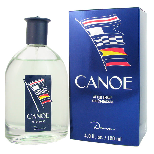 Canoe for Men by Dana 4.0 oz After Shave Splash