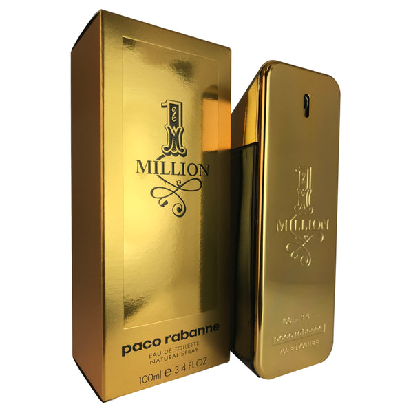 1 Million for Men by Paco Rabanne 3.4 oz Eau de Toilette Spray