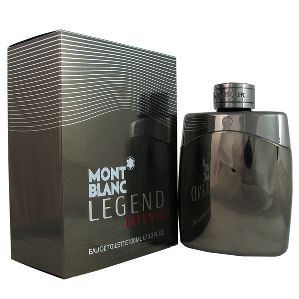 Legend Intense for Men by Mont Blanc 3.3 oz Eau de Toilette Spray