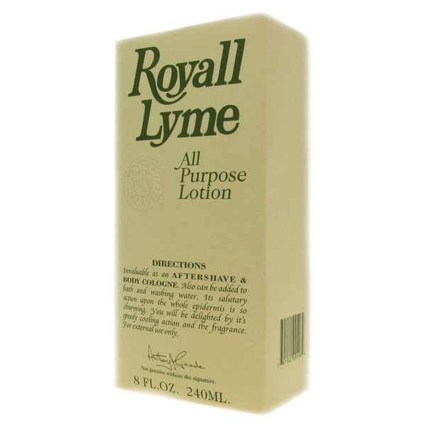Royall Lyme by Royall Fragrances 8 oz All Purpose Lotion