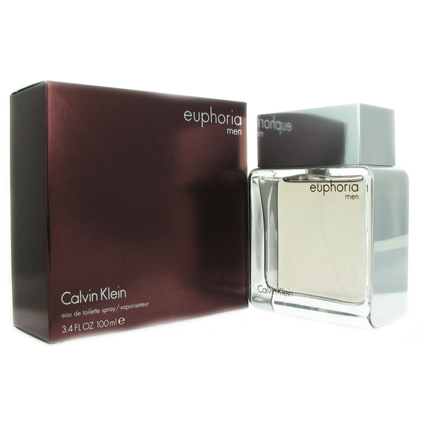 Euphoria for Men by Calvin Klein 3.4 oz 100 ml Eau de Toilette Spray