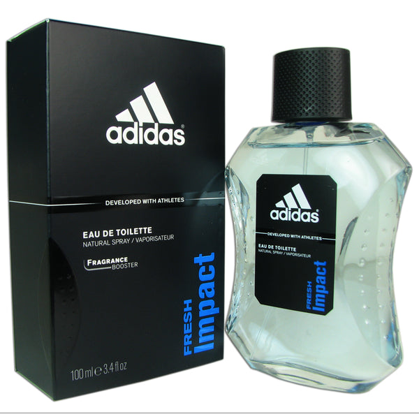 Fresh Impact for Men By Adidas 3.4 oz Eau de Toilette Spray
