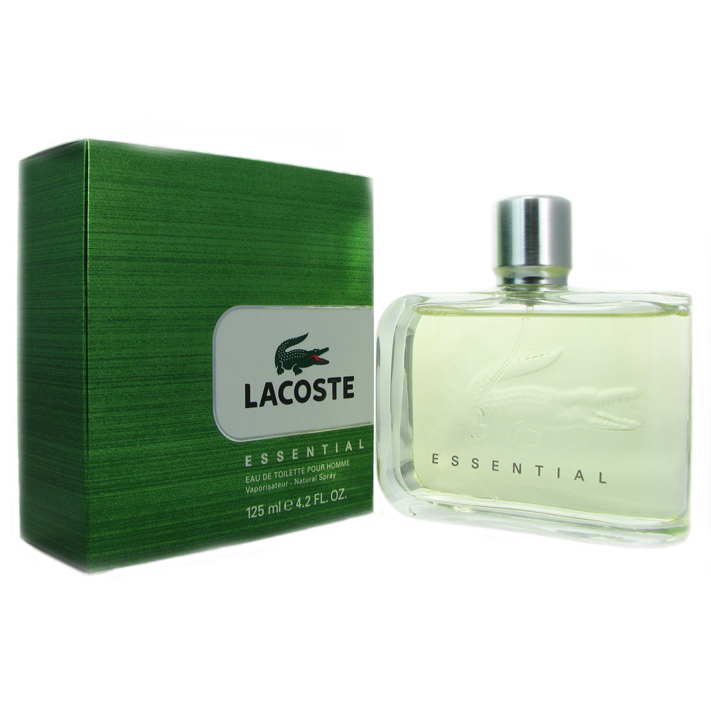 Lacoste Essential for Men 4.2 oz Eau de Toilette Natural Spray