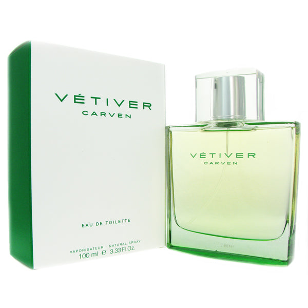 Carven Vetiver for Men 3.3 oz EDT Spray