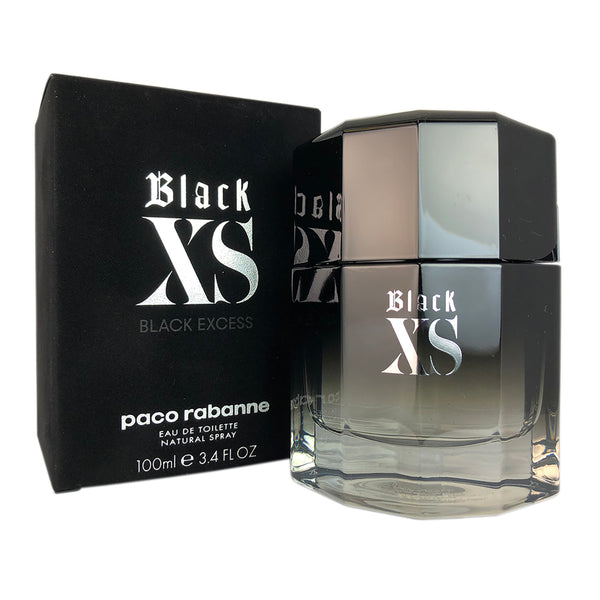 Black XS for Men by Paco Rabanne 3.4 oz Eau de Toilette Spray