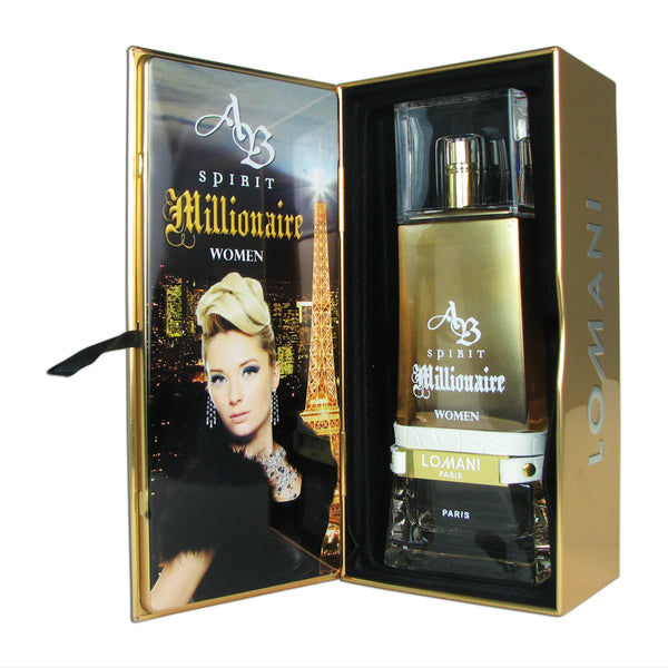 AB Spirit Millionaire for Women by Lomani 3.3 oz Eau de Parfum Spray