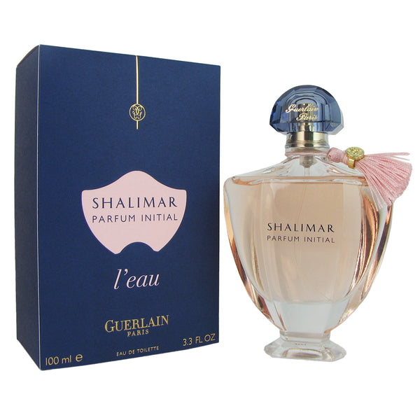 Shalimar Parfum Initial L'eau for Women by Guerlain 3.3 oz Eau de Toilette
