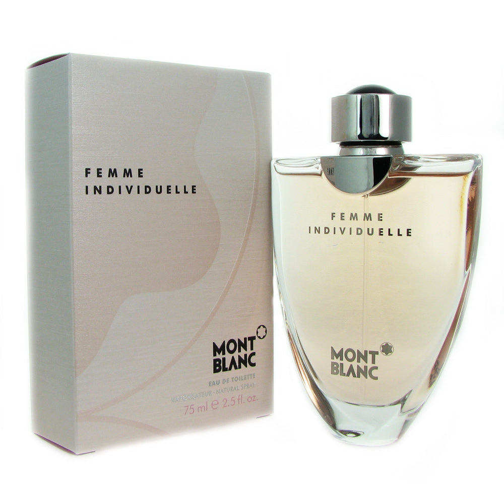 Individuelle Femme for Women by Mont Blanc 2.5 oz Eau de Toilette Spray