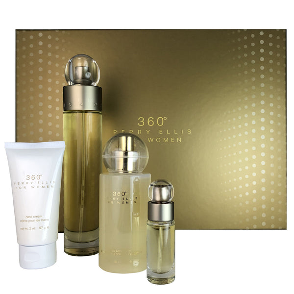 360 for Women by Perry Ellis 4 Piece Gift Set