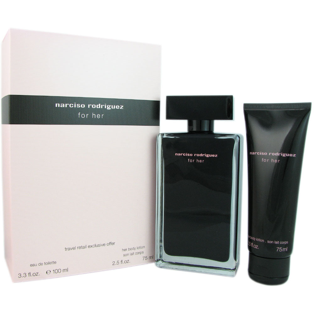 Narciso Rodriguez for Her 2 Pcs Travel Set