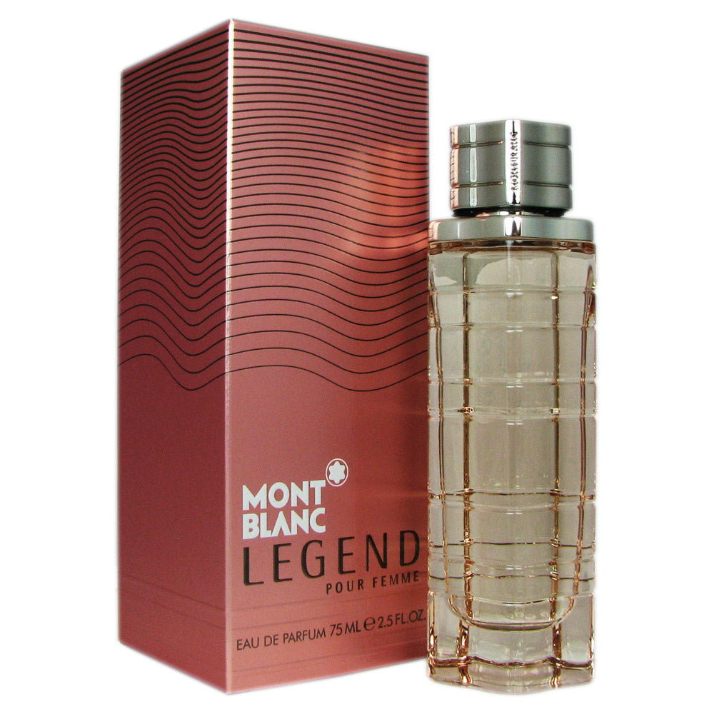 Legend for Women by Mont Blanc 2.5 oz 75 ml Eau de Parfum Spray