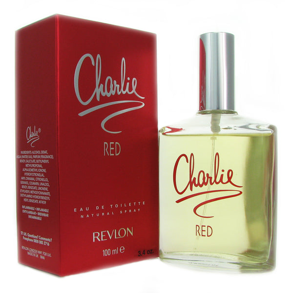 Charlie Red for Women by Revlon 3.3 oz Eau de Toilette Spray