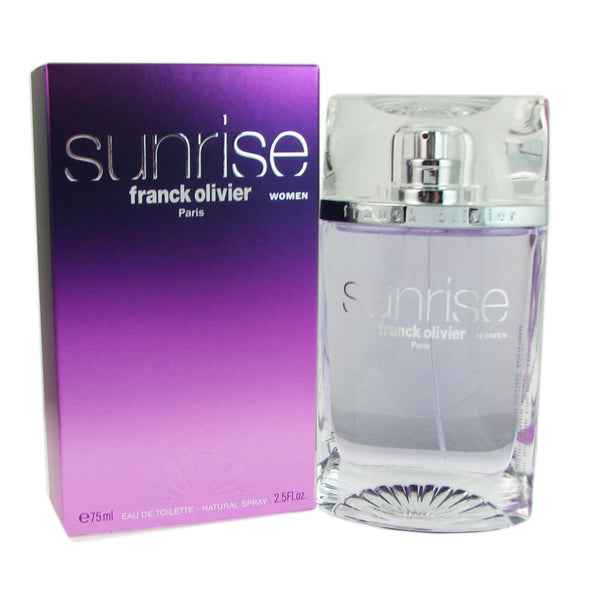Sunrise for Women by Franck Olivier 2.5 oz Eau de Toilette Spray