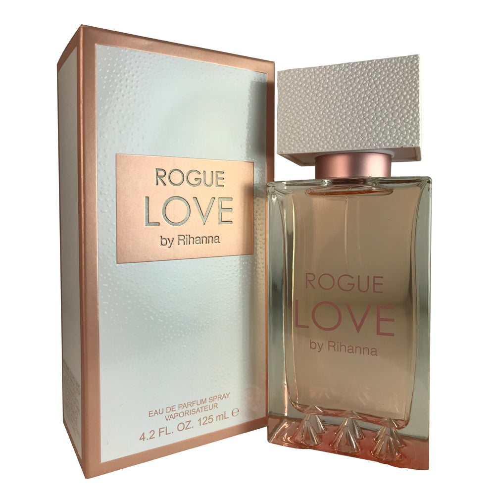 Rihanna Rogue Love For Women 4.2 oz Eau De Parfum Spray