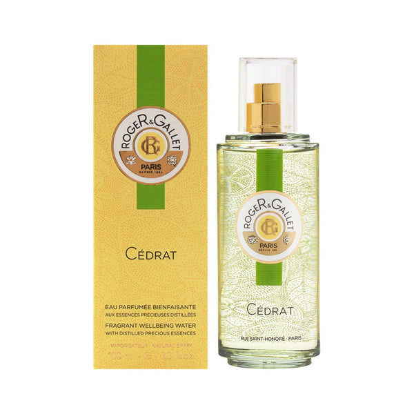 Cedrat ( Citron ) by Roger & Gallet 3.3 oz Fragrant Well Being Water Spray