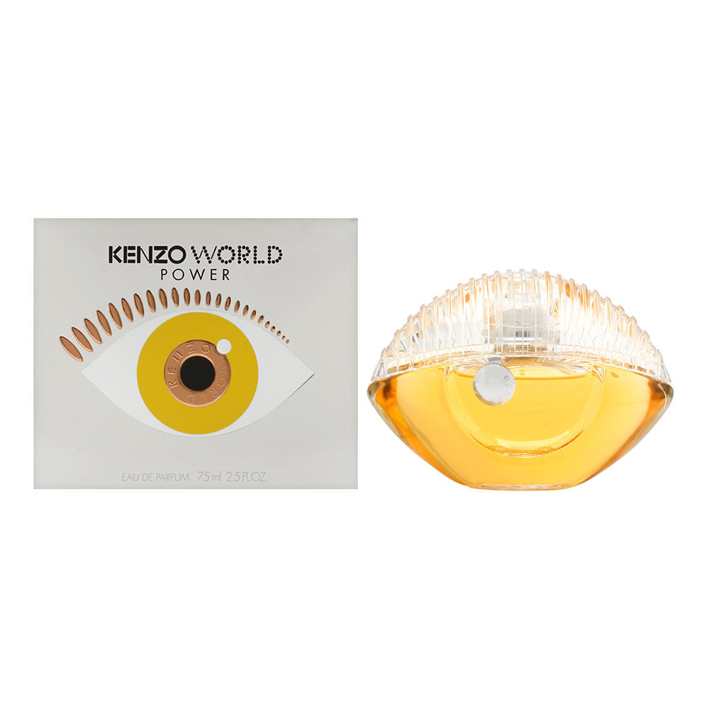 Kenzo World Power by Kenzo for Women 2.5 oz Eau De Parfum Spray