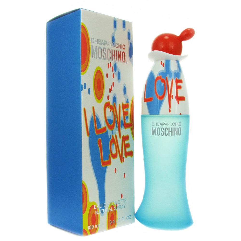 Moschino I Love Love for Women 3.4 oz Eau de Toilette Spray