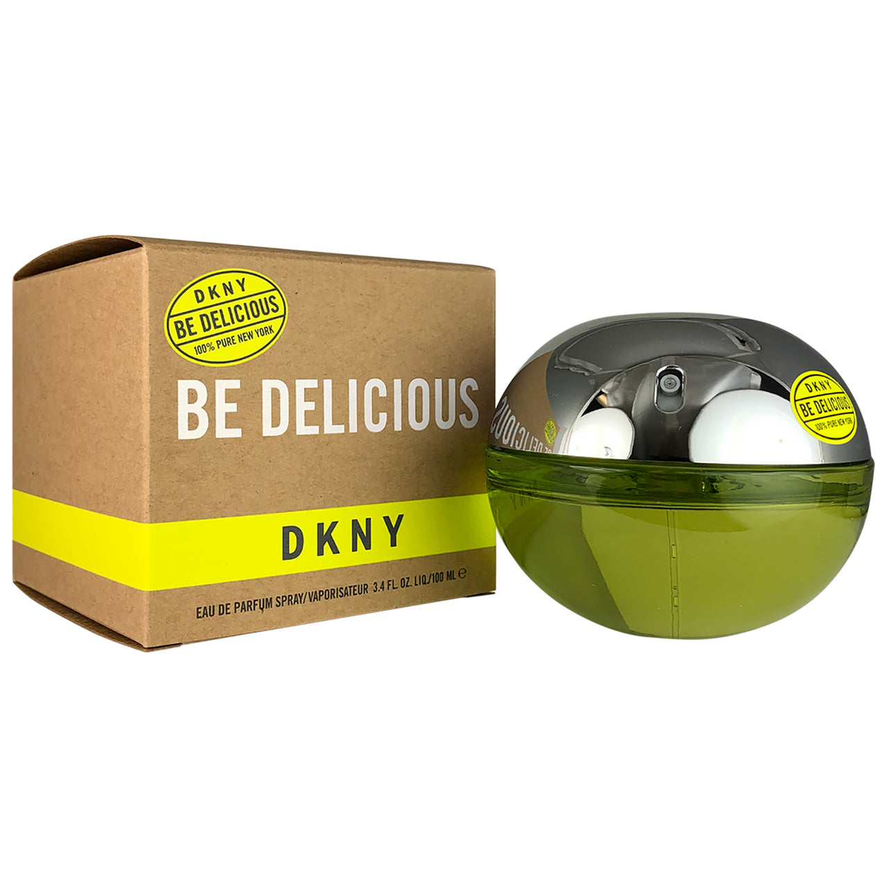 DKNY Be Delicious for Women by Donna Karan 3.3 oz Eau de Parfum Spray