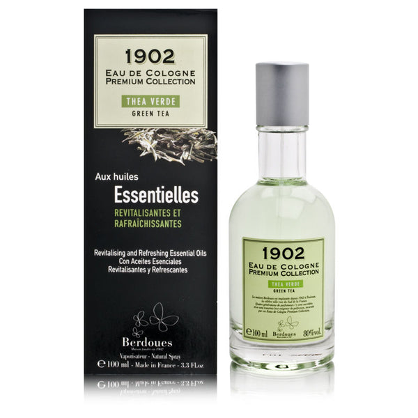 1902 Green Tea by Berdoues 3.3 oz Eau de Cologne Spray