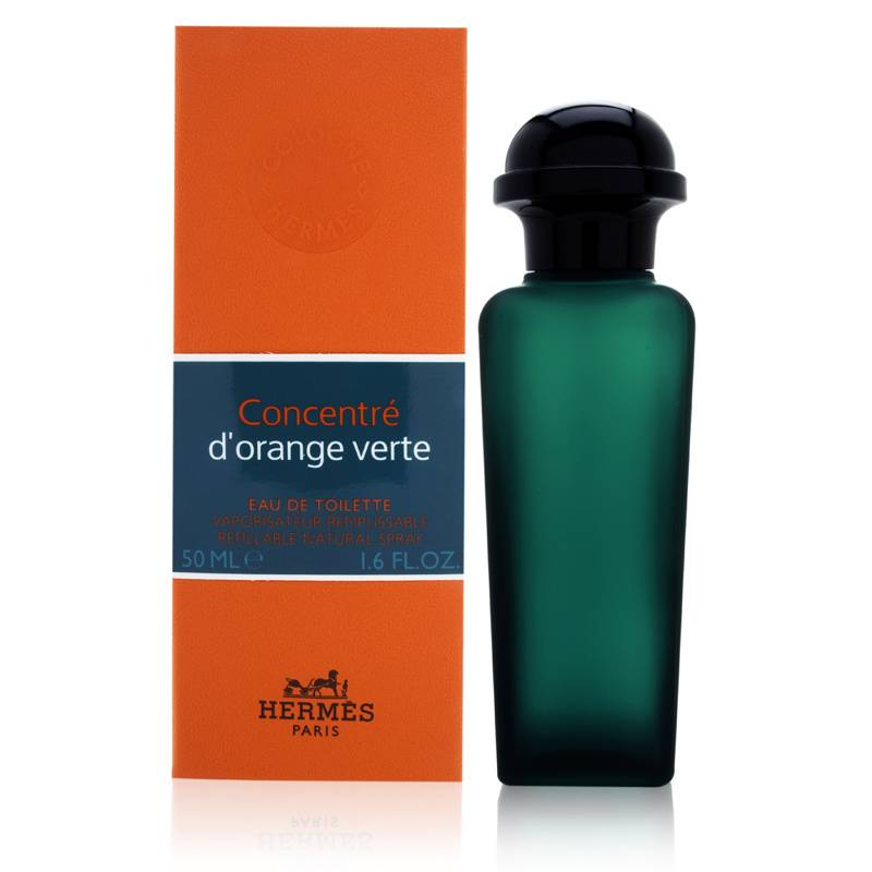 Concentre d'Orange Verte by Hermes 1.6 oz Eau de Toilette Spray Refillable