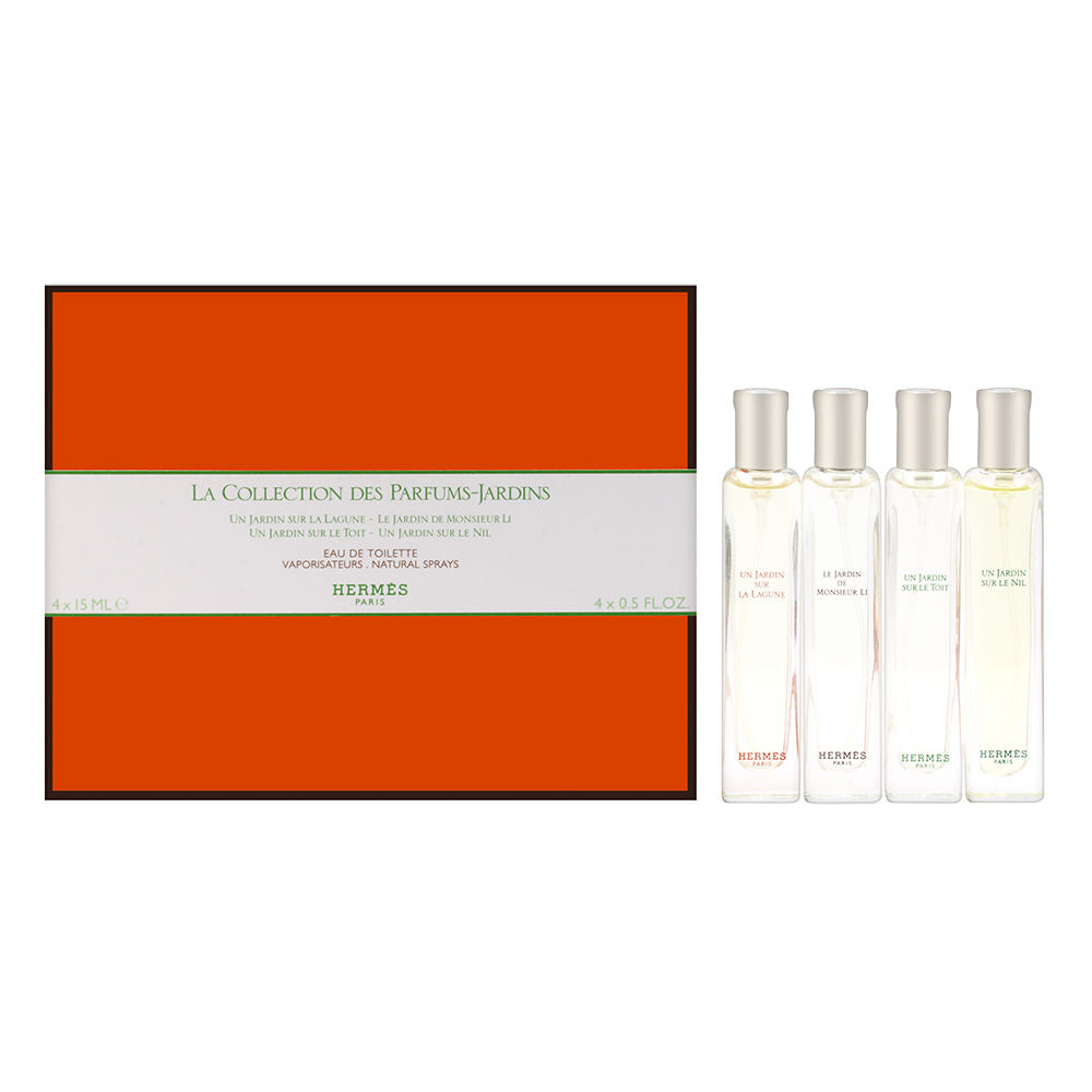 Hermes The Gardens Collection Coffret 4 Piece Set