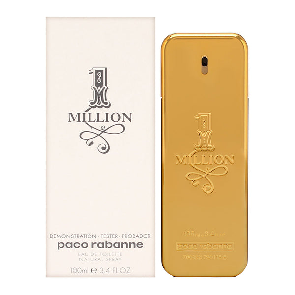 1 Million by Paco Rabanne for Men 3.4 oz Eau de Toilette Spray (Tester)
