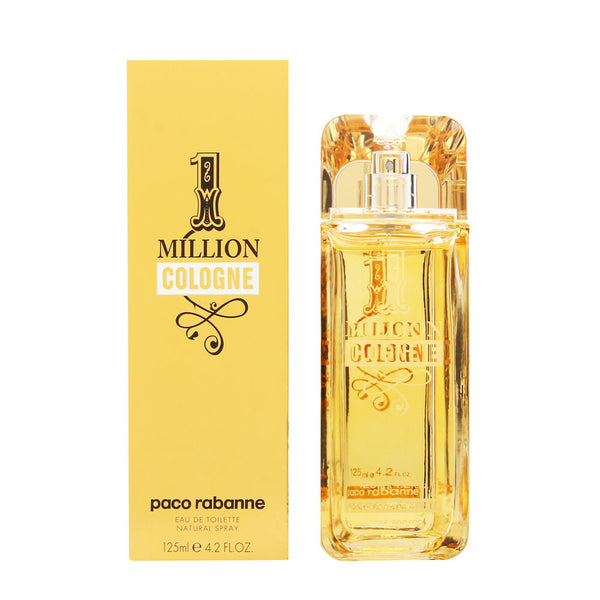 1 Million Cologne by Paco Rabanne for Men 4.2 oz Eau de Toilette Spray