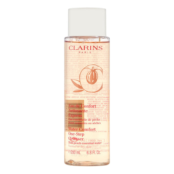 Clarins Water Comfort One-Step Cleanser with Peach Essential Water 200ml/6.8oz - Normal or Dry Skin