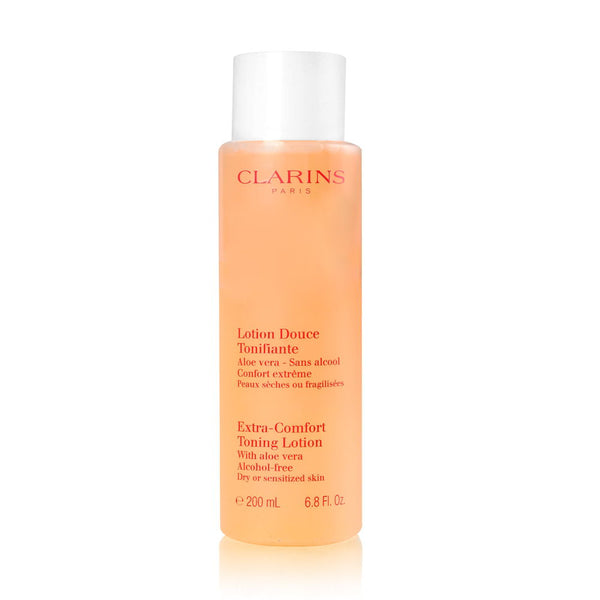 Clarins Extra Comfort Toning Lotion Alcohol Free 200ml/6.8oz - Dry or Sensitized Skin