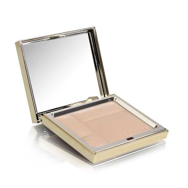 Clarins Ever Matte Mineral Powder Compact 01 Transparent Light