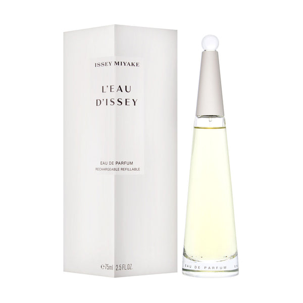 L'eau d'Issey by Issey Miyake for Women 2.5 oz Eau de Parfum Spray Refillable