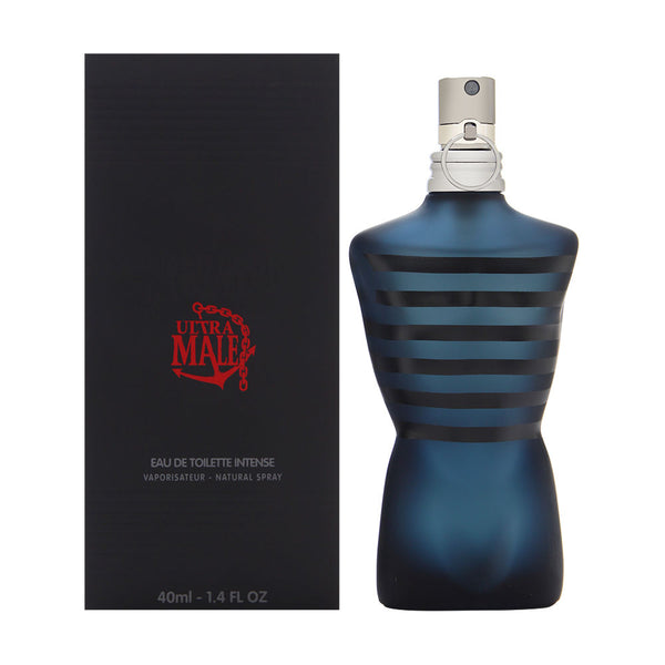 Ultra Male by Jean Paul Gaultier for Men 1.4 oz Eau de Toilette Intense Spray