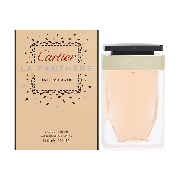 Cartier La Panthere Edition Soir for Women 2.5 oz Eau de Parfum Spray