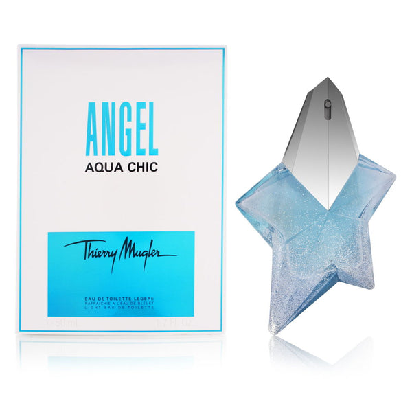 Angel Aqua Chic by Thierry Mugler for Women 1.7 oz Light Eau de Toilette Spray