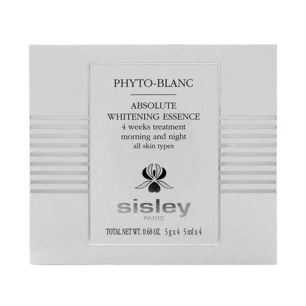 Sisley Phyto-Blanc Absolute Whitening Essence 4 Weeks Treatment 5ml x 4 Ampules  0.68oz