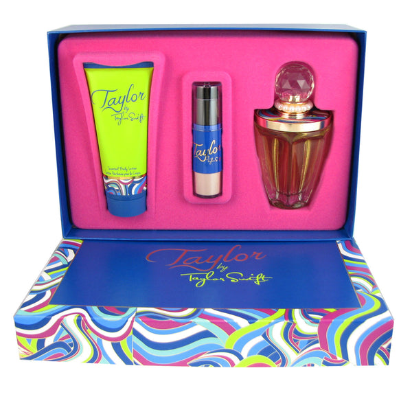Taylor for Women by Taylor Swift 3 pc Gift Set for Women 3.4 oz Eau de Parfum Spray