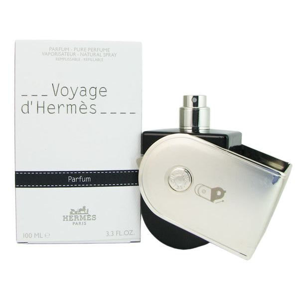 Voyage D'Hermes by Hermes 3.3 oz Pure Parfum Spray Refillable