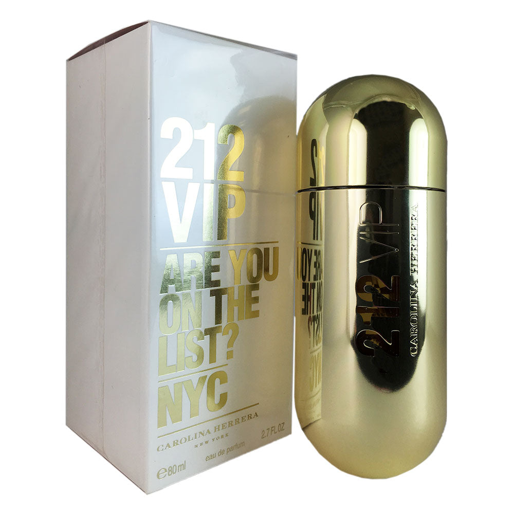 212 VIP for Women by Carolina Herrera 2.7 oz Eau de Parfum Spray