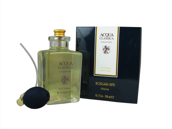 Acqua Classica Borsari Parma For Woman and Men by Borsari 10.1 oz Eau de Cologne Spray